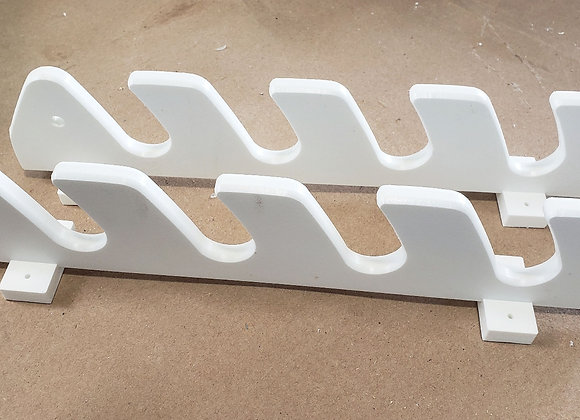4x Rod Holder With Deluxe Offshore Bungee