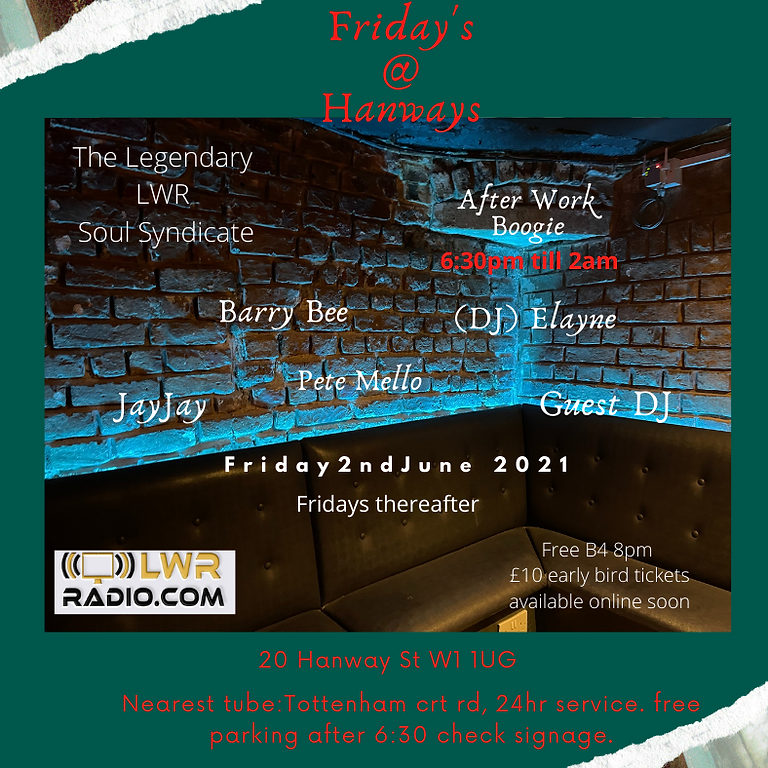 Friday's @ Hanways LLWROSS In Session