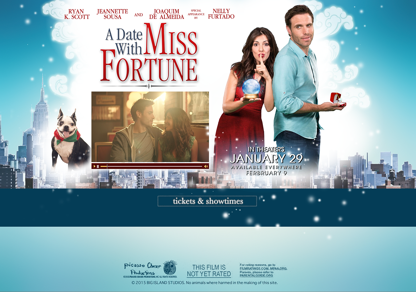 A date with miss fortune in Australia
