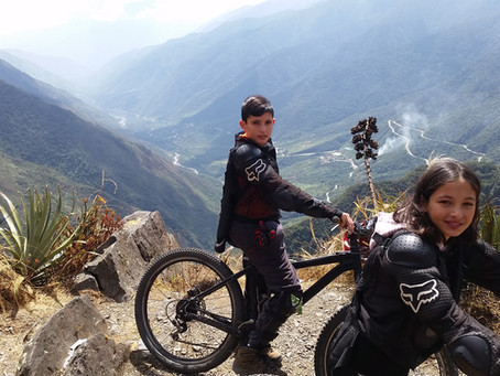 Surviving Down Hill Biking on the Inca Jungle Trail