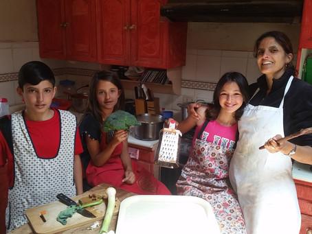 Volunteering at Peru orphanage
