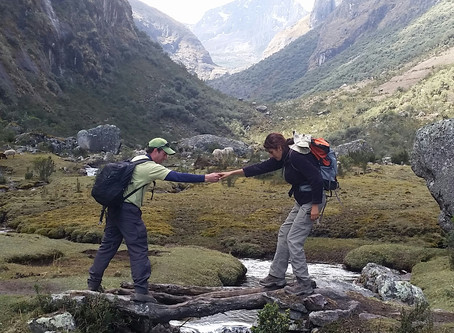 High Anxiety at 15,000 feet- in the mighty Andes