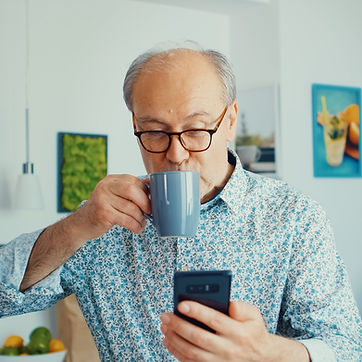 grandfather-enjoying-music-VNHULJ5.jpg