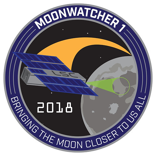 MoonWatcher1 Mission Patch - Stickers