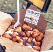 Deep Fried Chese Curd Poutine