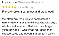 Google Review - 2019