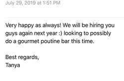 Corporate Catering - 2019