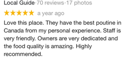 Google Review - 2018
