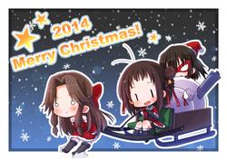 クリスマス川内型(艦これ)