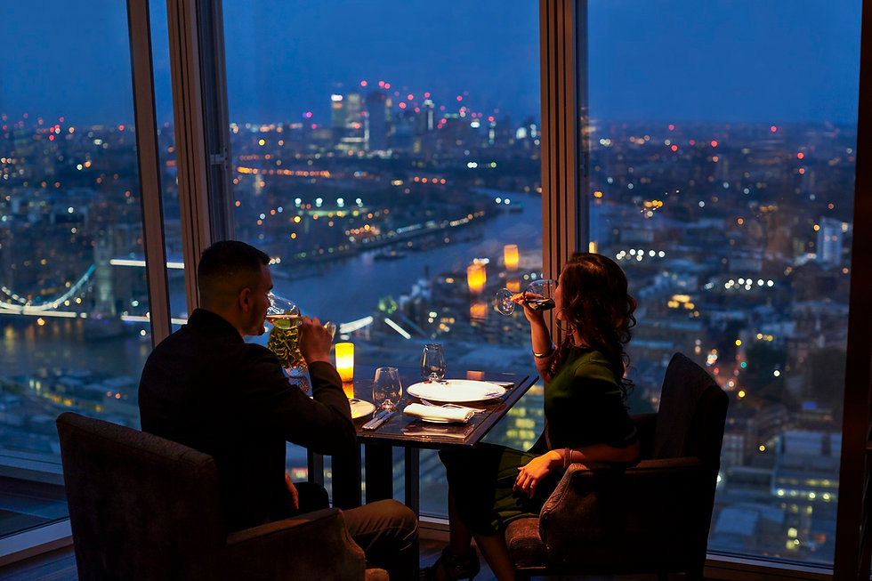Shangri-La Hotel, At The Shard, London,