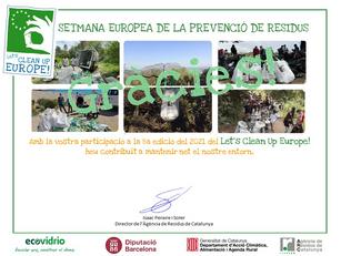 El primer Diploma ambiental per l'Ermita de Sant Pau!