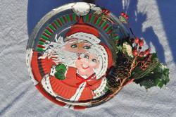 Santa and Mrs hubcap