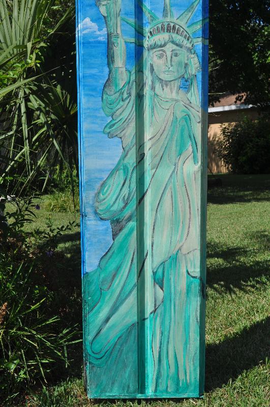 Lady Liberty full-size