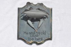 Crab plaque