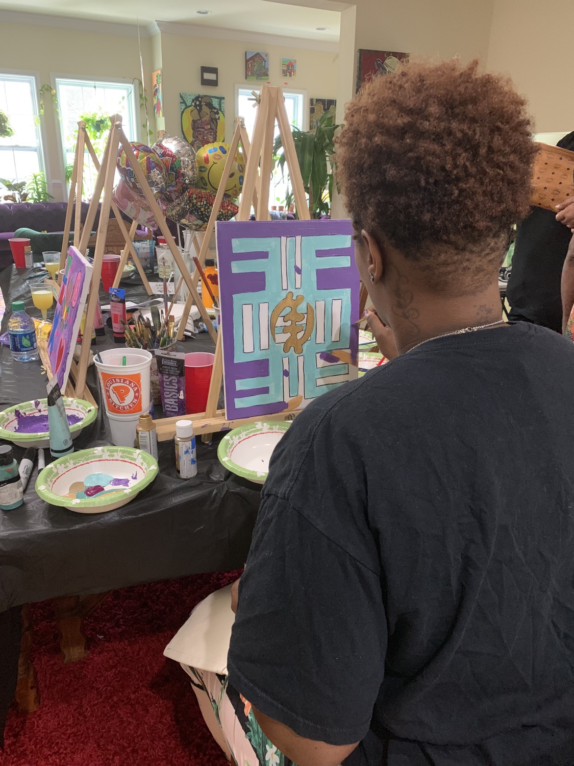 Paint Sip With The Terrell S