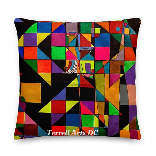 Kaleidescope 20x20 throw pillow