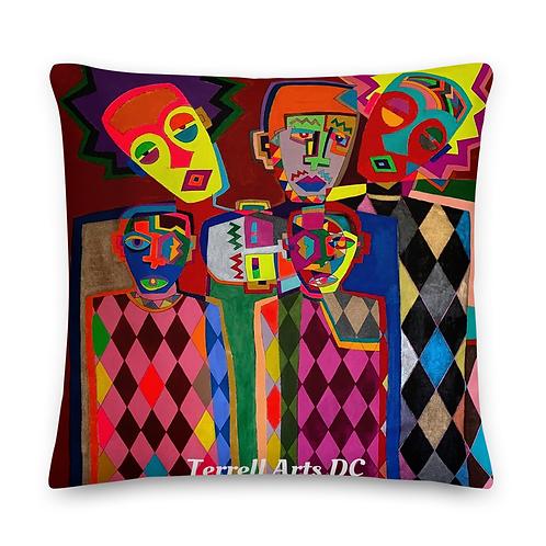 The Shining 20x20 throw pillow