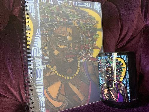 Notebook and coffee mug bundle