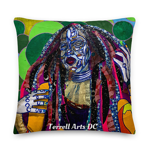 Yes Gawd 20x20 throw pillow