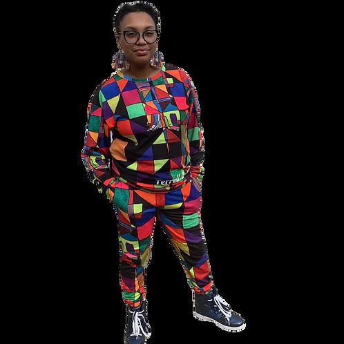 Kaleidescope Sweat Suit
