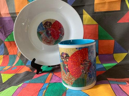 The Fan mug set