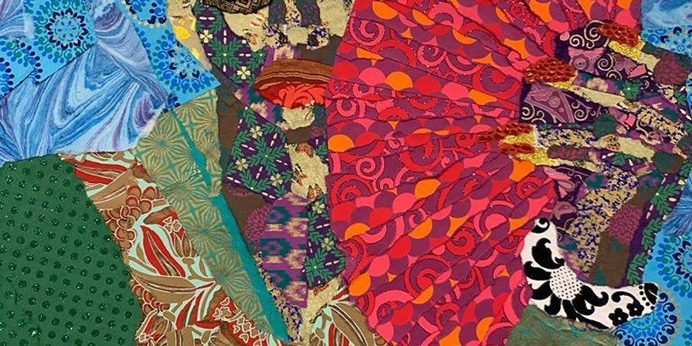 Collage Exploration with Zsudayka Nzinga