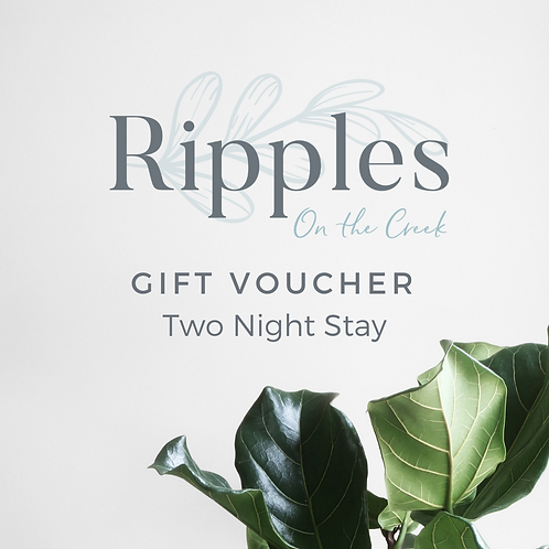 Gift Voucher - Two Night Stay