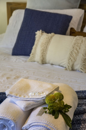 Serenity - Towels on Bed