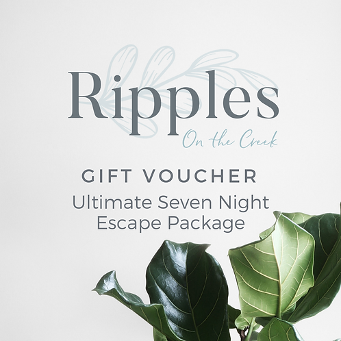 Gift Voucher - Ultimate Seven Night Escape Package