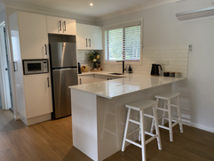 'Silky Oak' Kitchen