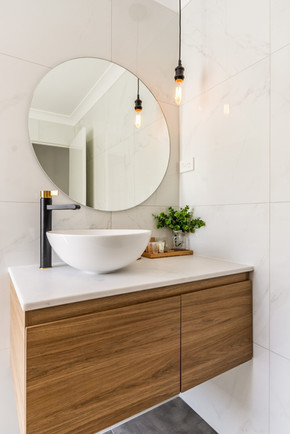Bathroom, 'Silky Oak'