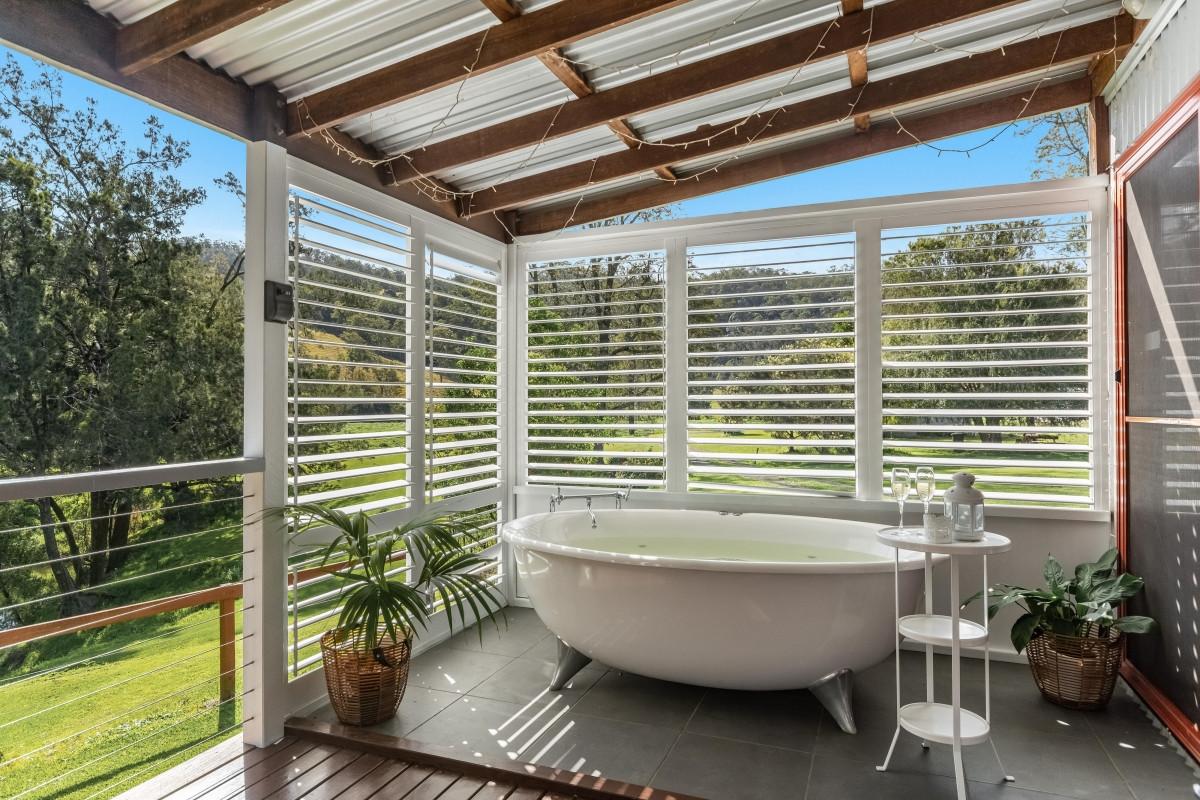 Spa Bath on the Deck