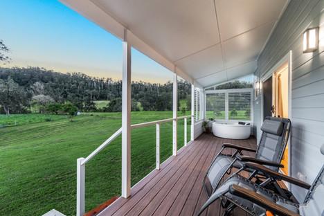 Deck at 'Fern Hill'
