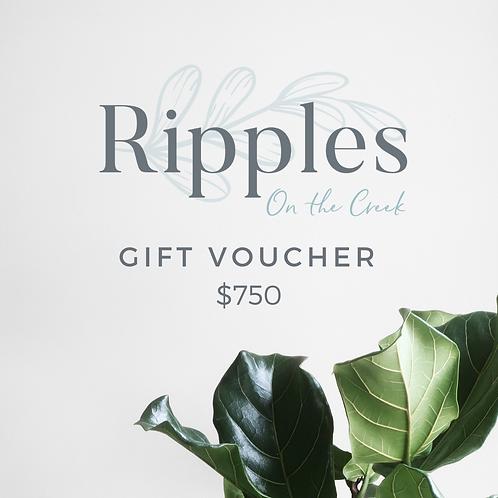 Gift Voucher - $750