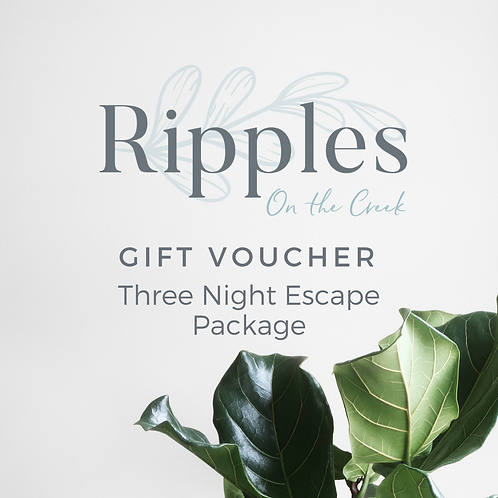 Gift Voucher - Three Night Stay Escape Package