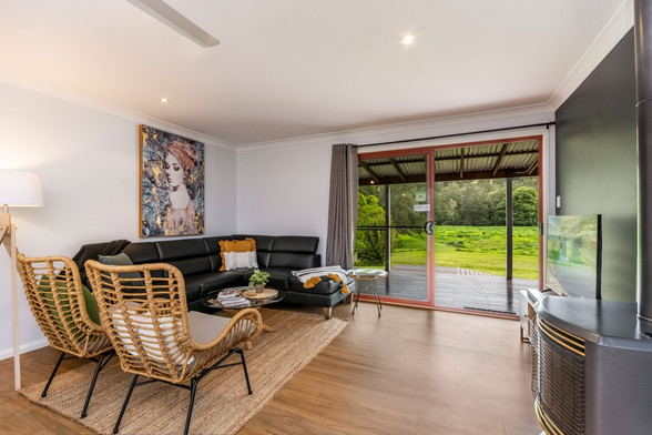 Lounge Area with Country Views
