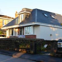 New house build on Overtoun Road, Dalmuir.  -  1st January 2021