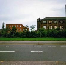 Elgin Street School, closed, awaiting demolition. Clydebank 1987. - Photos taken by Sarah from California, USA