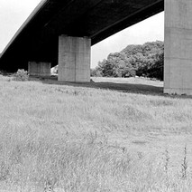 The Erskine Bridge connects the M8 motorway at Erskine on the south side to the A82 road at Old Kilpatrick. - July 1978