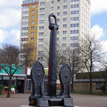 The Anchor at the Dalmuir Square.  -  23rd March 2019