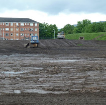 The site of St Andrew's School, taken from Douglas Street. - 12th May 2011