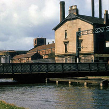 Kilbowie Road canal bridge - from the collection of Jack Carson