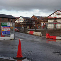 New Social housing development being built on the site of the former St Andrew's School, which was demolished several years ago.  -  9th January 2020