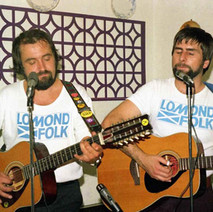 Lomond Folk playing upstairs at the Douglas hotel. It was a good night. The Douglas Hotel was our local. - 13th august 1977