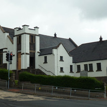 They have finished painting the old church. - 19th May 2011