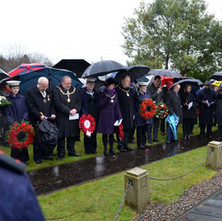 In remembrance of those who died in the Clydebank Blitz on 13th and 14th March 1941, at Dalnottar Cemetery. - 10th March 2018
