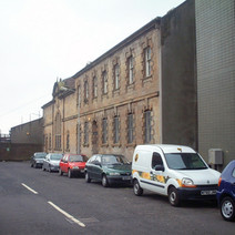 Clydebank Baths in Bruce Street, been closed for a long time.  -  24th March 2002