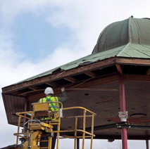 The Bandstand was moved to the Clyde Shopping centre in 1983. - Clydebank. 19th March 2010