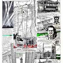 Clydebank 100th Anniversary poster created by Edward H. Chisnall