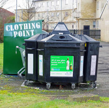 Recycle point behind the CE Centre at North Elgin Street, Whitecrook.  -  1st February 2021
